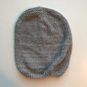 Worn Once Gray Beanie